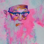 Rabbi Paintball Portrait Prints